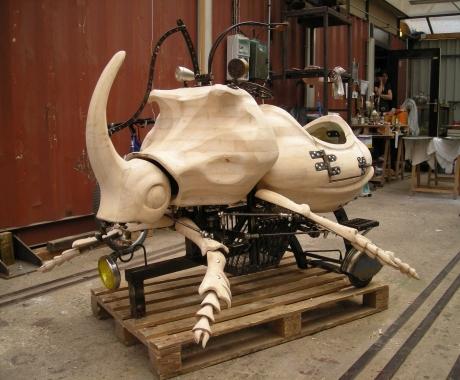Scarabée rhinocéros